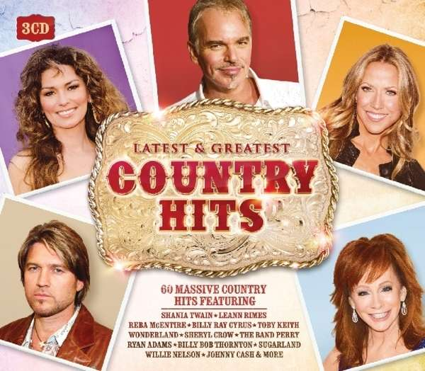 Country Hits 3 Cds Jpc