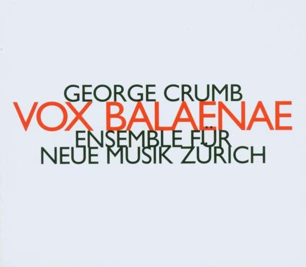 voice of the whale by george Die cd george crumb: vox balaenae (voice of the whale) jetzt probehören und für 9,99 euro kaufen mehr von george crumb (geb 1929) gibt es im shop.