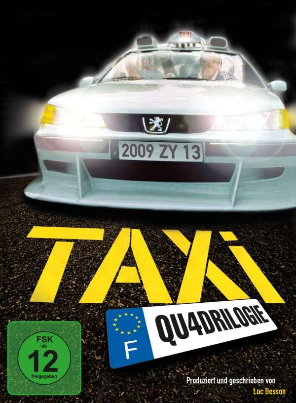 taxi 1 4 4 dvds jpc. Black Bedroom Furniture Sets. Home Design Ideas