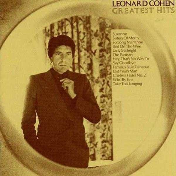 Leonard Cohen Greatest Hits 180g Lp Jpc