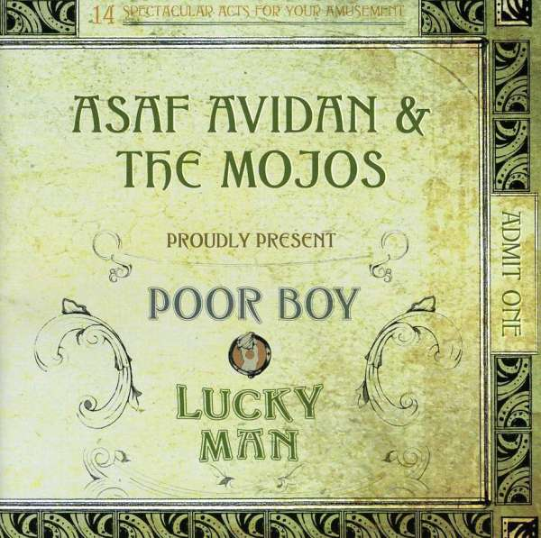 Asaf Avidan & The Mojos – Poor Boy / Lucky Man Lyrics ...