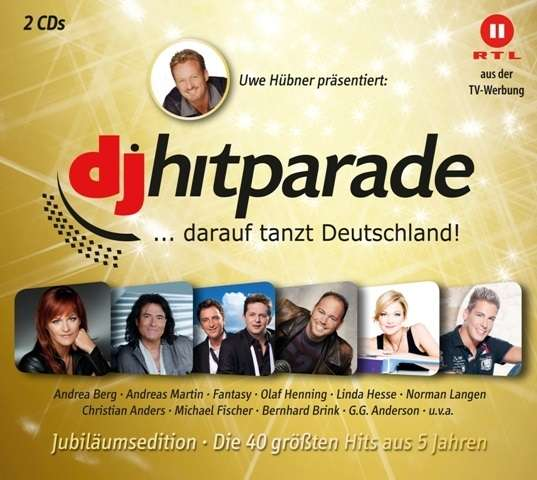 Foyer Des Arts Hitparade : Dj hitparade jubiläumsedition cds jpc