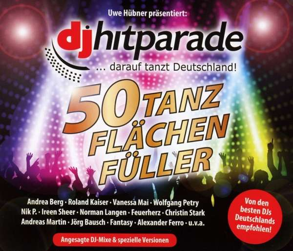 Foyer Des Arts Hitparade : Dj hitparade tanzflächenfüller cds jpc