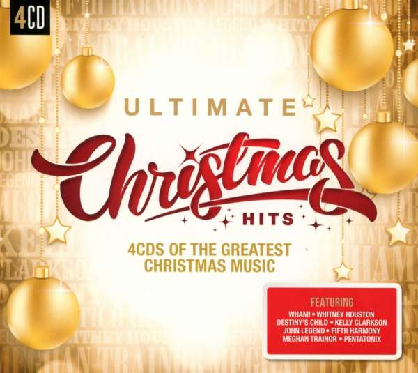 Ultimate Christmas Hits 4 Cds Jpc
