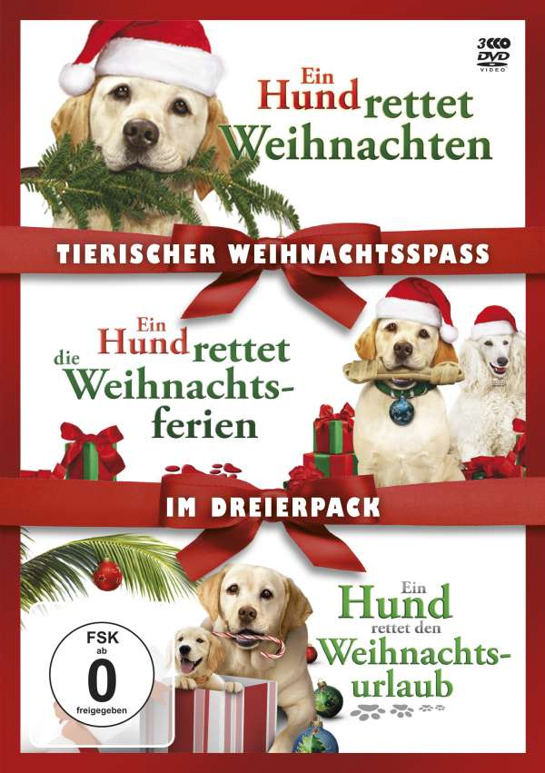 tierischer weihnachtsspa ein hund rettet weihnachten. Black Bedroom Furniture Sets. Home Design Ideas