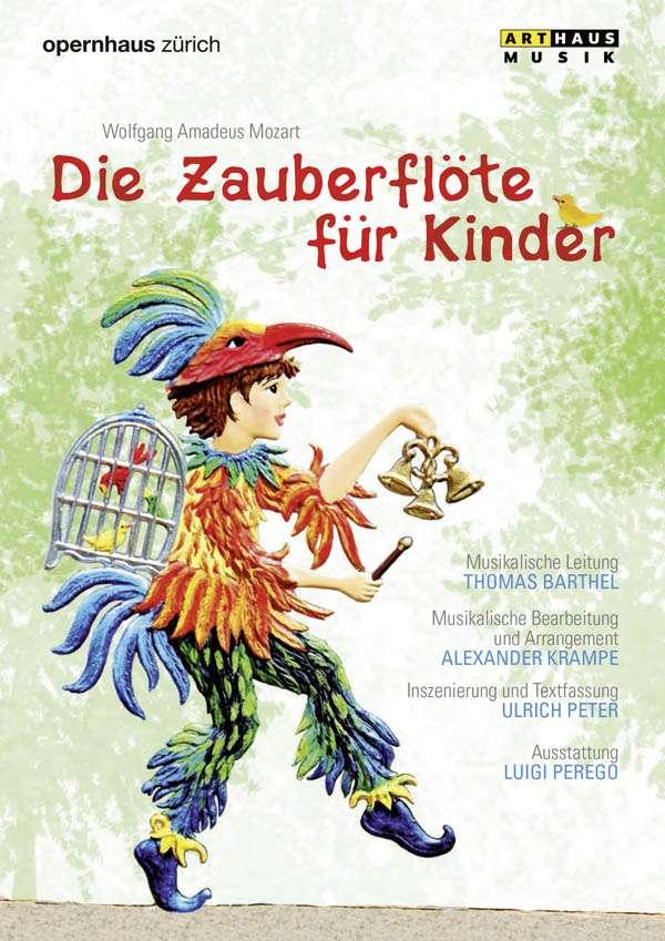 Mozart die zauberfl te f r kinder dvd jpc for Die kinder des
