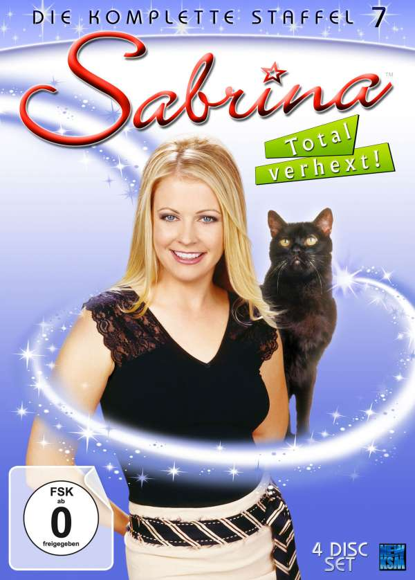 Sabrina - Total verhext Staffel 7 (finale Staffel) (4 DVDs ...