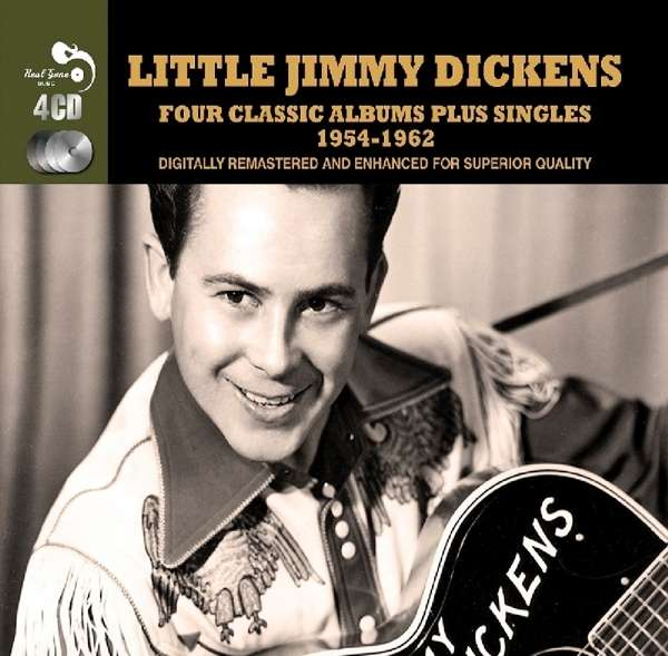 little jimmy dickens four classic albums plus singles 4. Black Bedroom Furniture Sets. Home Design Ideas