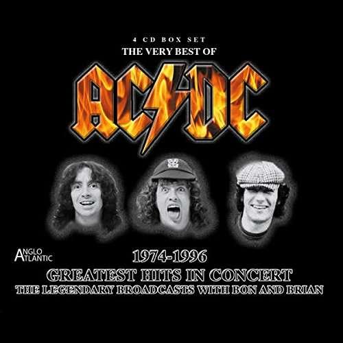 ac dc greatest hits in concert 1974 1996 4 cds jpc. Black Bedroom Furniture Sets. Home Design Ideas