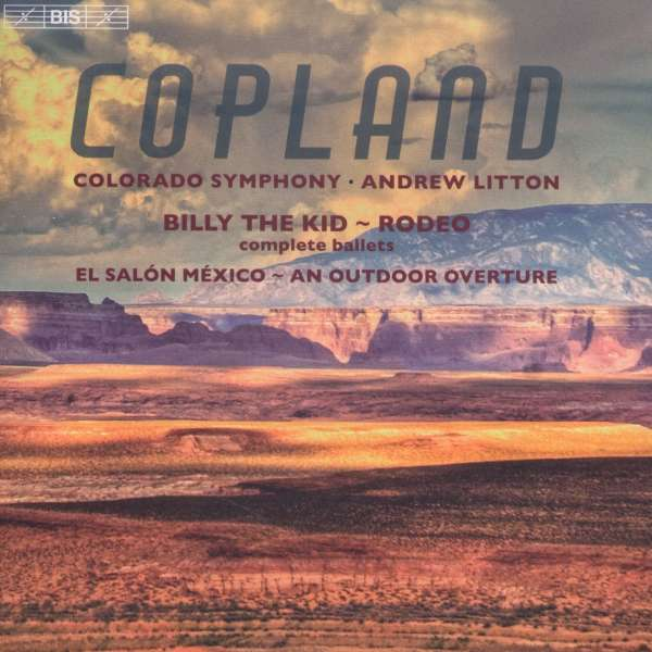 Aaron copland billy the kid ballettsuite sacd jpc for Aaron copland el salon mexico