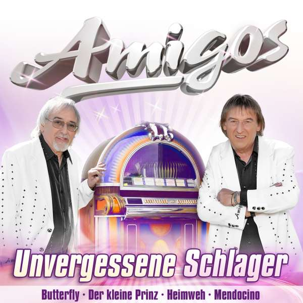 die amigos unvergessene schlager cd jpc. Black Bedroom Furniture Sets. Home Design Ideas