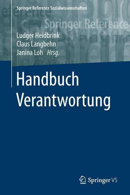 Handbuch Verantwortung Buch Jpc