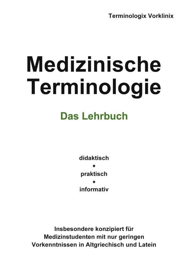 Medizinische Terminologie - Terminologix Vorklinix (Buch) – jpc