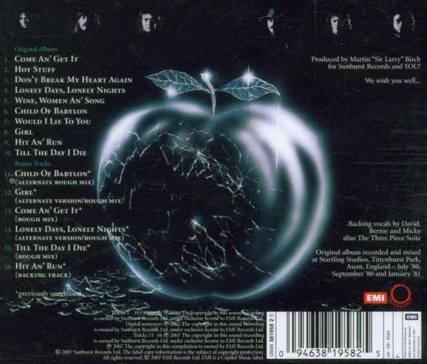 Whitesnake: Come An' Get It (Remastered) (CD) – jpc