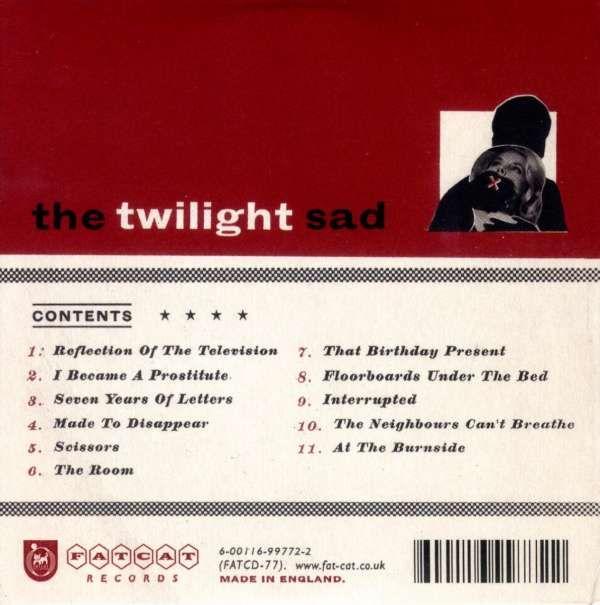 The Twilight Sad Forget The Night Ahead Cd Jpc