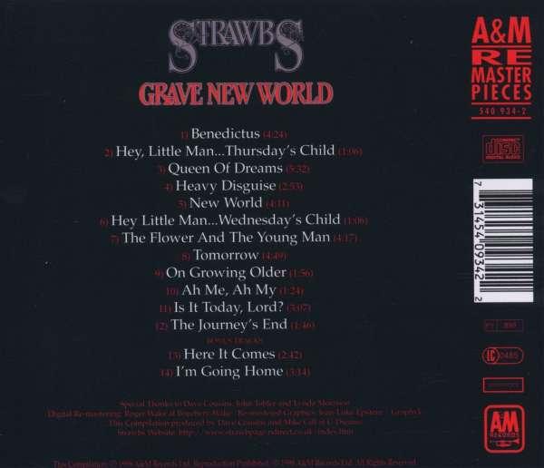 The Strawbs Grave New World Cd Jpc