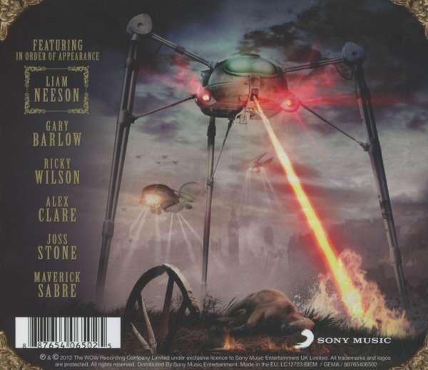 Filmmusik Jeff Wayne S Musical Version Of The War Of The