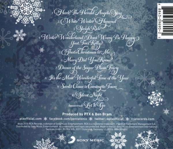 Pentatonix That S Christmas To Me Cd Jpc