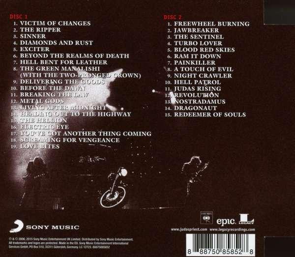 Judas Priest The Essential Judas Priest 2 Cds Jpc