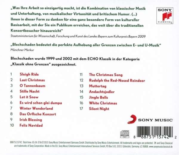 Blechschaden - Weihnachten mit Blechschaden (CD) – jpc