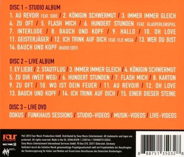Mark Forster: Bauch und Kopf (Live Edition) (2CD + DVD) (2