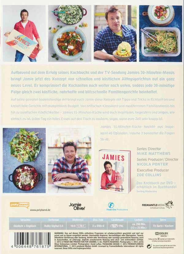 Jamie Oliver: Jamies 15-Minuten-Küche Vol. 3 (2 DVDs) – jpc