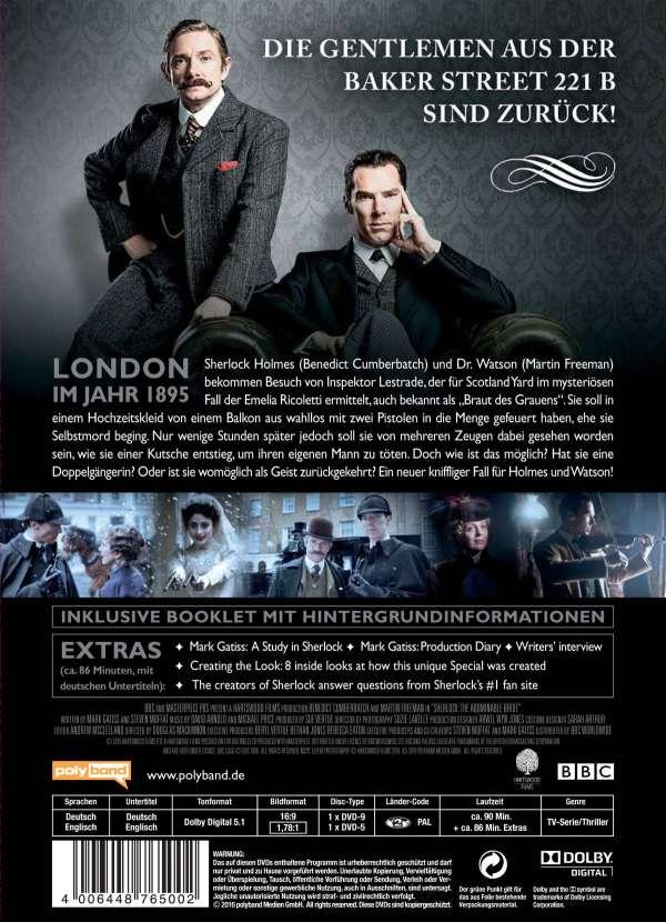 Sherlock Die Braut des Grauens (2 DVDs) – jpc