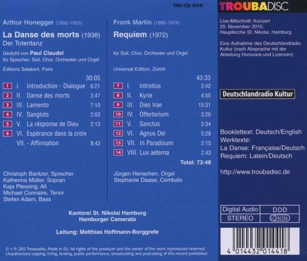 Frank Martin - Requiem