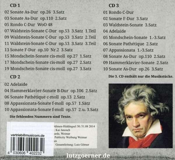 ludwig van beethoven ludwig van beethoven sein leben seine musik 3 cds jpc - Beethoven Lebenslauf