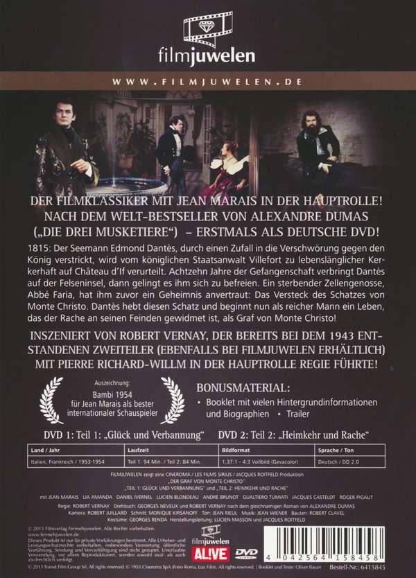 Der Graf Von Monte Christo (1998)