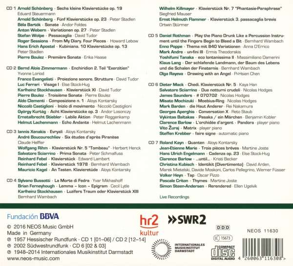 Darmstadt aural documents box 4 pianists 7 cds jpc for Darmstadt aural documents box 3