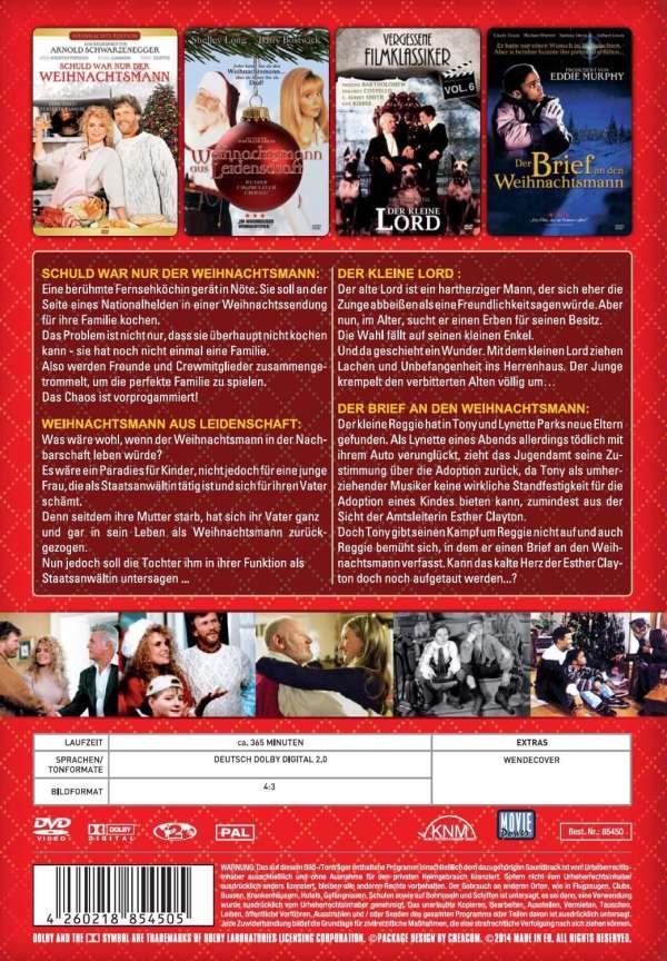 zauberhafte weihnachten 4 filme auf 1 dvd dvd jpc. Black Bedroom Furniture Sets. Home Design Ideas