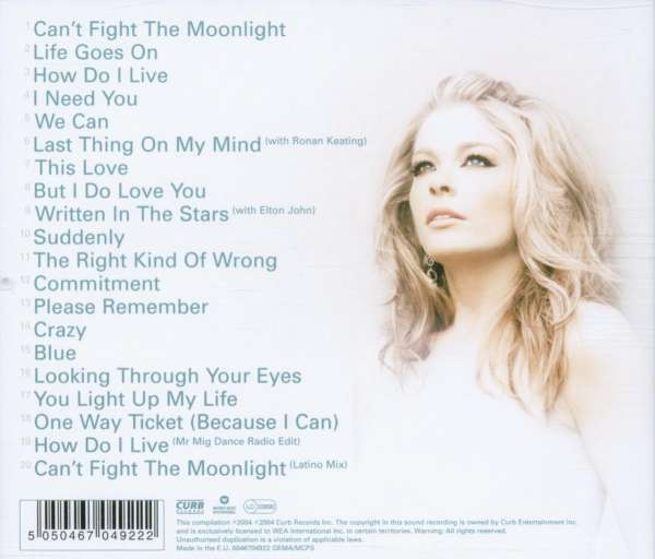 LeAnn Rimes: The Best Of LeAnn Rimes (CD) – jpc