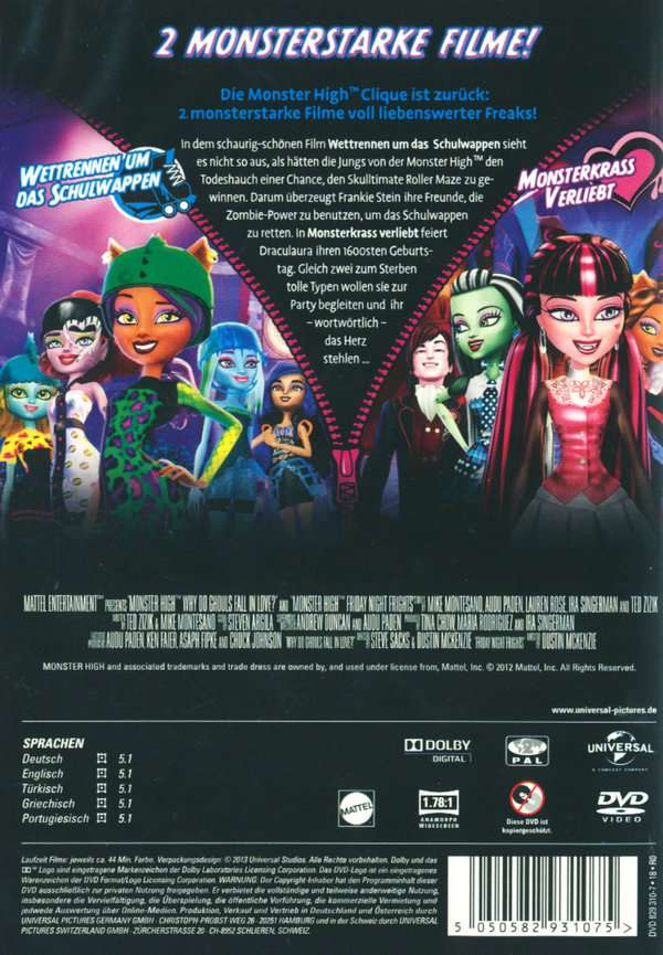 Monster High Monsterkrass Verliebt