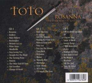 Toto Rosanna The Very Best Of Toto 3 Cds Jpc